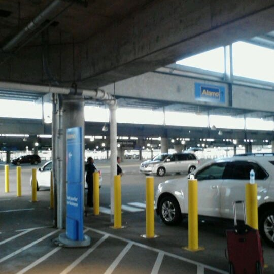 Consolidated Rental Car Facility Rental Car Location In
