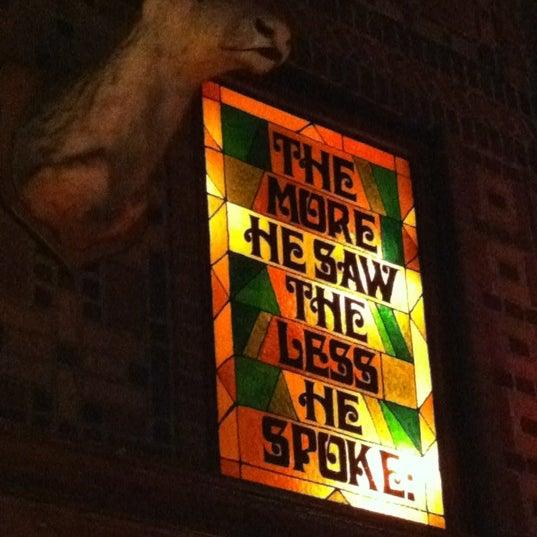 Снимок сделан в The Owl Bar пользователем Rachael B. 7/19/2012