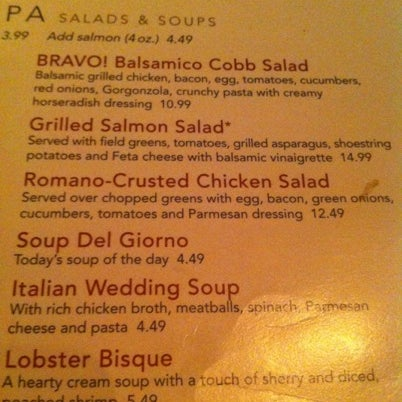 Try the Romano-Crusted Chicken Salad!  It's awesome and good for you too!  I love love live this salad.