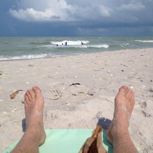 Private Beaches: Moorings Private Beach