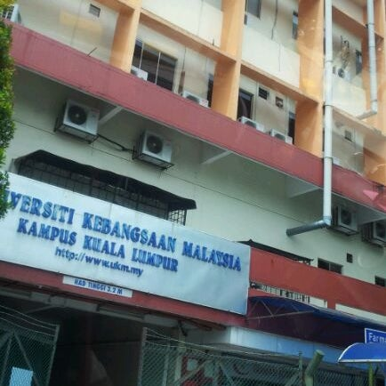 Kampus Ukm Kl Fakulti Sains Kesihatan College Academic Building