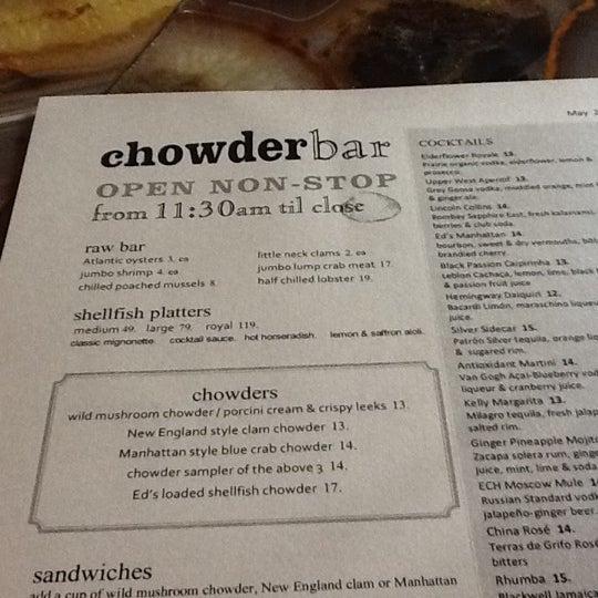Foto tirada no(a) Ed's Chowder House por Kurt-Owen R. em 5/3/2012