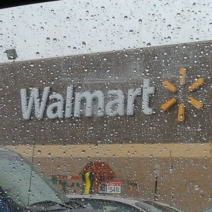 Walmart Supercenter Big Box Store In Bessemer