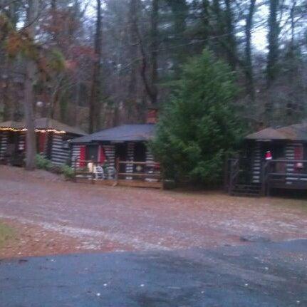 Photo taken at Log Cabin Motor Court by Dana on 12/22/2011