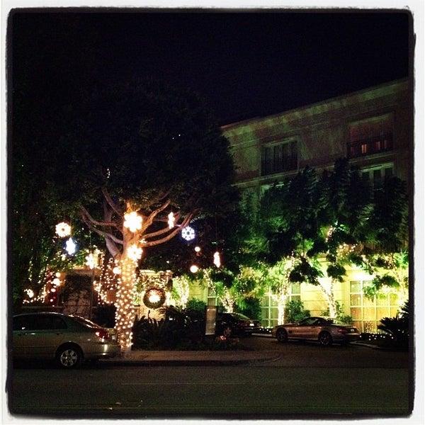 12/1/2011にNorman P.がThe Peninsula Beverly Hillsで撮った写真