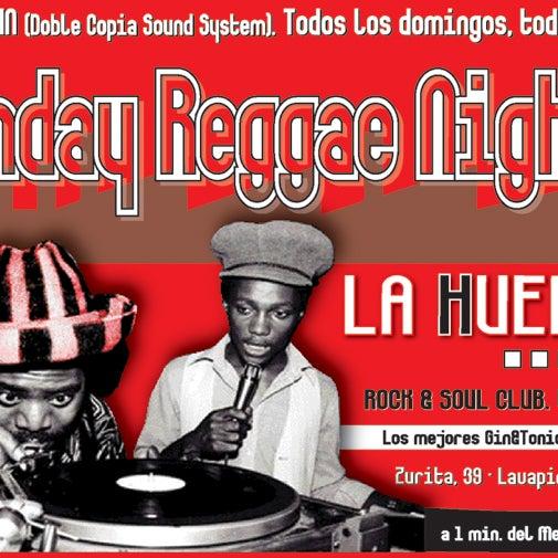 Todos los domingos, Reggae Party!!! Por supuesto, todo en vinilo.