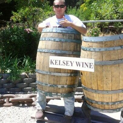 Das Foto wurde bei Kelsey See Canyon Vineyards von Austin S. am 8/7/2012 aufgenommen