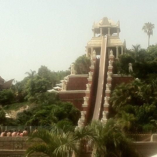 Foto tomada en Siam Park por Dimka 🔥 B. el 7/18/2012