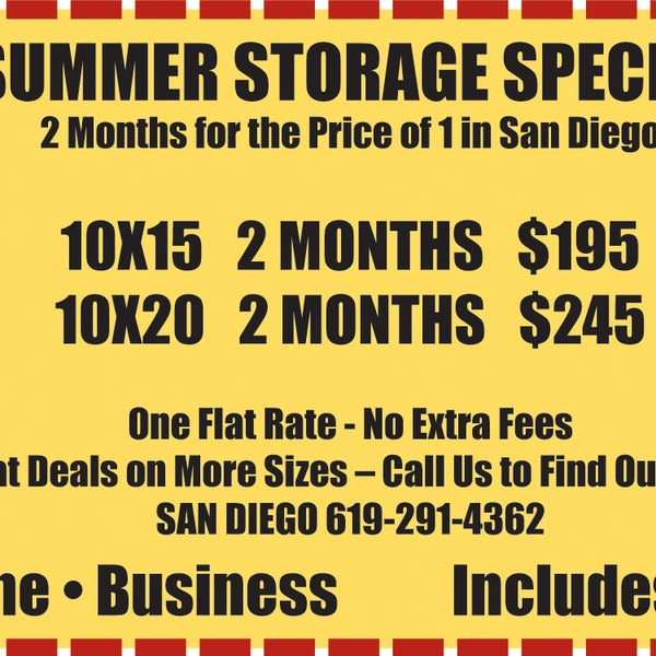 Photos At Lock It Lockers Self Storage   Mission Valley East ...