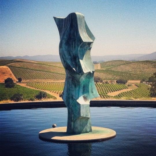 Das Foto wurde bei Artesa Vineyards & Winery von Lucas M. am 7/9/2012 aufgenommen