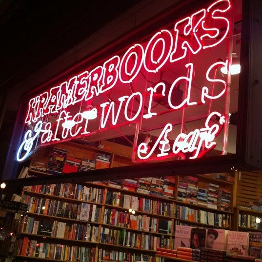Photo prise au Kramerbooks & Afterwords Cafe par Scott M. le6/10/2012