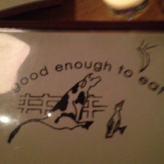 4/11/2012 tarihinde Rachel M.ziyaretçi tarafından Good Enough to Eat'de çekilen fotoğraf