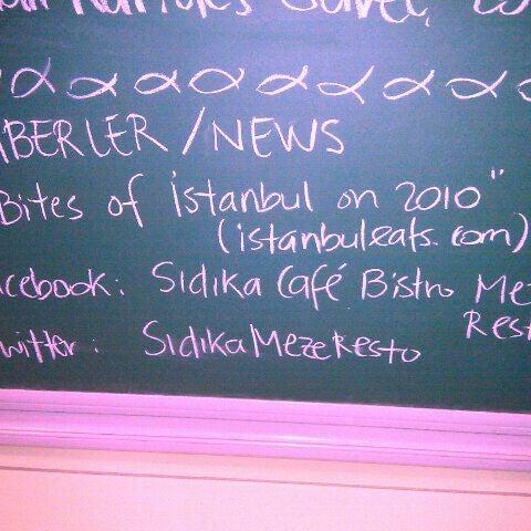 Foto tomada en Sıdıka Meze Restoranı por Olgac N. el 10/4/2011