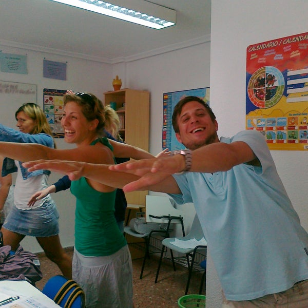 Always funny lessons with CI Alicante