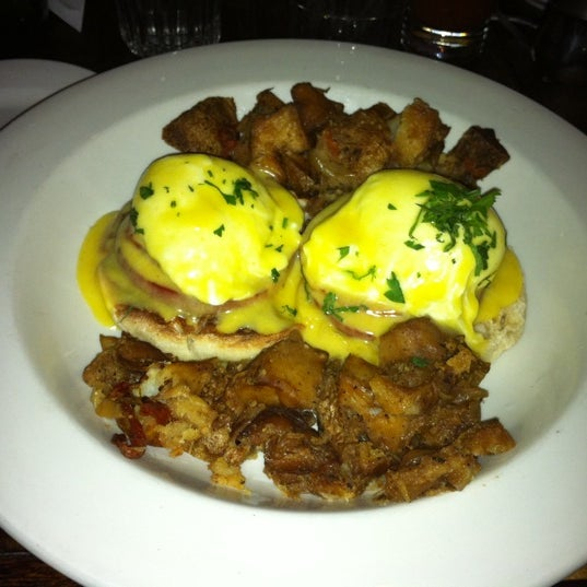 Eggs Benedict are awesome.