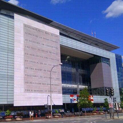 Снимок сделан в Музей журналистики и новостей пользователем kyora 9/9/2012