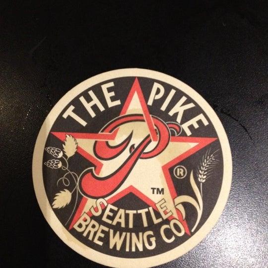 Das Foto wurde bei Pike Brewing Company von Lauren W. am 9/4/2012 aufgenommen