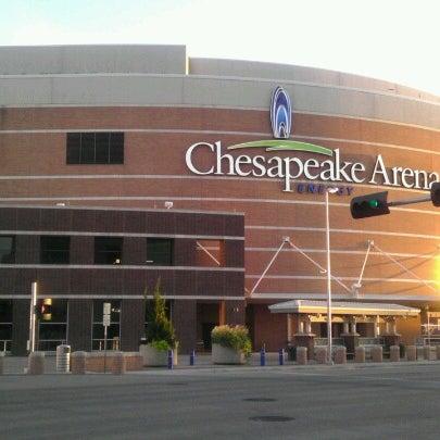 Das Foto wurde bei Chesapeake Energy Arena von Marlon M. am 7/16/2012 aufgenommen