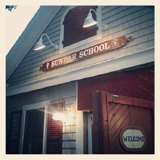 Photo taken at Sundae School by Evie D. on 6/26/2012