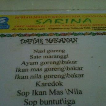 Photos At Rm Sarina Subang Jawa Barat