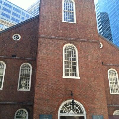 รูปภาพถ่ายที่ Old South Meeting House โดย Davin H. เมื่อ 8/6/2012