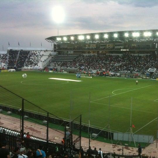 รูปภาพถ่ายที่ Toumba Stadium โดย Ioannis I. เมื่อ 5/10/2012