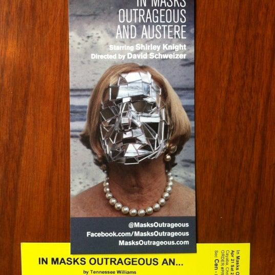 Снимок сделан в The Lynn Redgrave Theater at Culture Project пользователем Christopher C. 4/21/2012