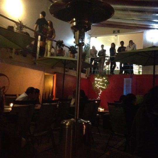 Das Foto wurde bei Kofetárica Café von Aarón R. am 5/19/2012 aufgenommen