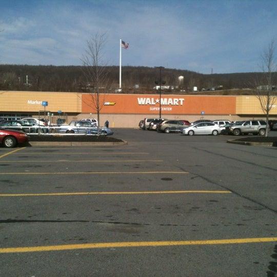 Walmart Supercenter Big Box Store In Dickson City