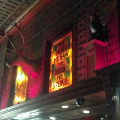 Снимок сделан в The Owl Bar пользователем Alan R. 7/29/2012