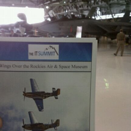 4/25/2012にEric N.がWings Over the Rockies Air & Space Museumで撮った写真
