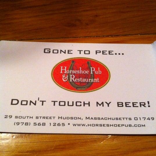 Photo prise au Horseshoe Pub & Restaurant par Jeff T. le8/13/2012