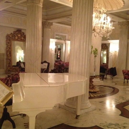 3/6/2012にEmanuela T.がGrand Hotel Des Bainsで撮った写真
