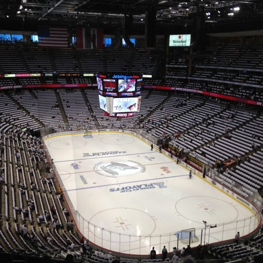 Photo prise au Gila River Arena par Zach C. le4/28/2012