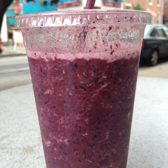 Antioxidant St smoothie! Mate really takes it over the top