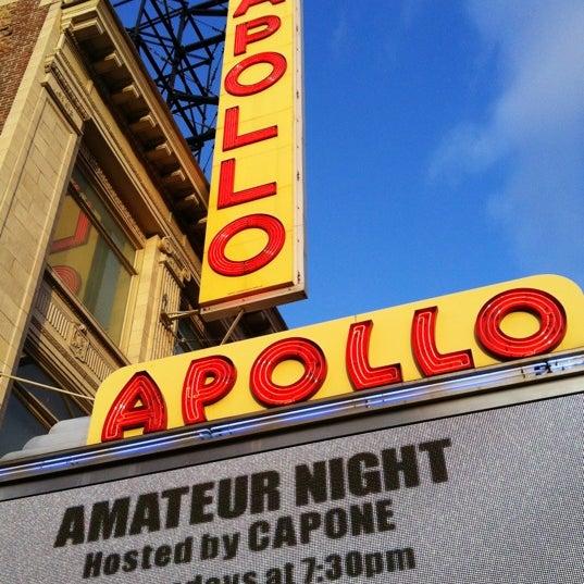 4/11/2012 tarihinde Alex S.ziyaretçi tarafından Apollo Theater'de çekilen fotoğraf