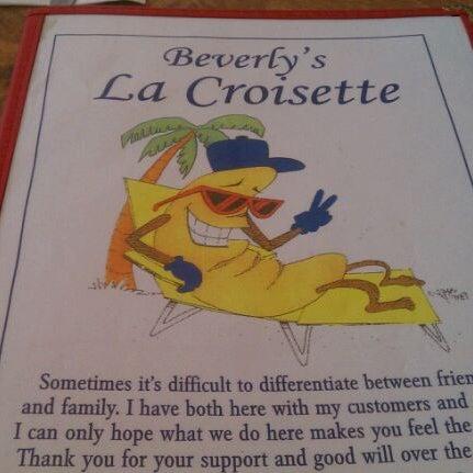Das Foto wurde bei Beverly's La Croisette von David G. am 3/16/2012 aufgenommen