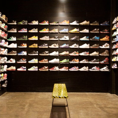 Carries pretty much every sneaker you could possibly want under one roof. Plus, they do consignment, which is useful when you get overwhelmed by the options and inevitably buy more pairs than you need