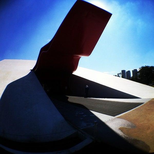 9/5/2012에 Rafael S.님이 Auditório Ibirapuera Oscar Niemeyer에서 찍은 사진