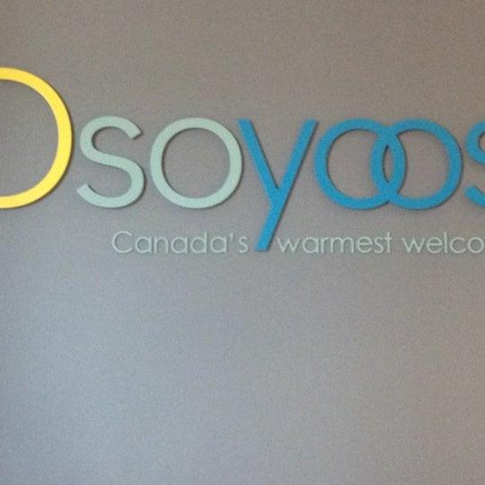 Das Foto wurde bei British Columbia Visitor Centre @ Osoyoos von Rachel D. am 8/8/2012 aufgenommen