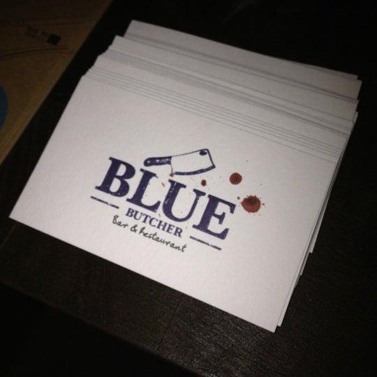 Das Foto wurde bei Blue - Butcher & Meat Specialist von Andy Y. am 6/18/2012 aufgenommen