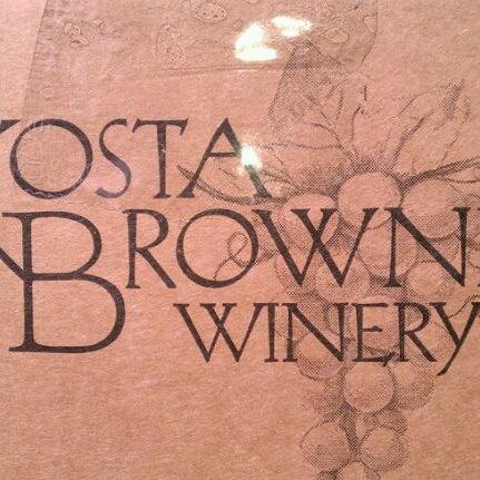 Photo taken at Kosta Browne Winery by James P. on 4/3/2012