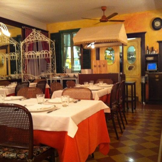 รูปภาพถ่ายที่ Antica Trattoria della Gigina โดย Pierpaolo C. เมื่อ 7/21/2012