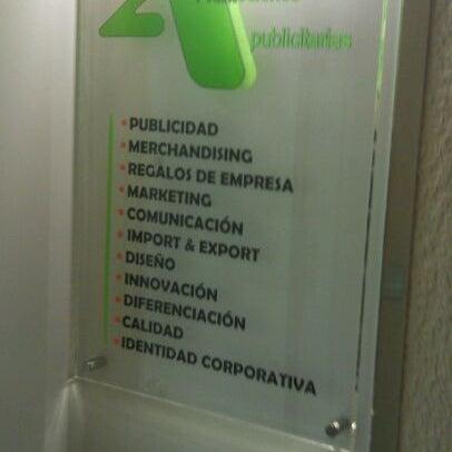 Снимок сделан в 2A Promociones Publicitarias пользователем Joaquín D. 3/29/2012