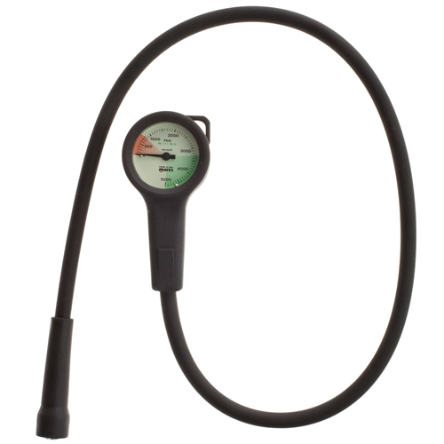 Special of the Month: Mares Mini Pressure Gauge with Brass Housing originally $110, in April only $49.95