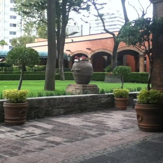 Снимок сделан в Hacienda de Los Morales пользователем Panmelis 2/11/2012