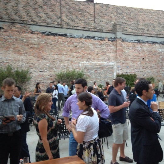 8/15/2012 tarihinde Matt W.ziyaretçi tarafından City Winery'de çekilen fotoğraf
