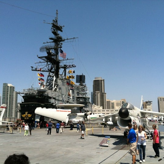 Photo taken at USS Midway Museum by Max M. on 8/4/2012