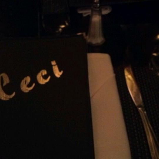 Снимок сделан в Ceci Italian Cuisine пользователем Melody d. 3/13/2012