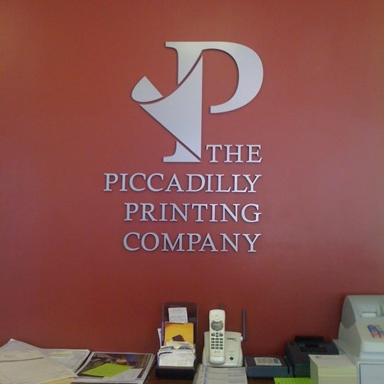 Photos At The Piccadilly Printing Company Design Studio In Winchester